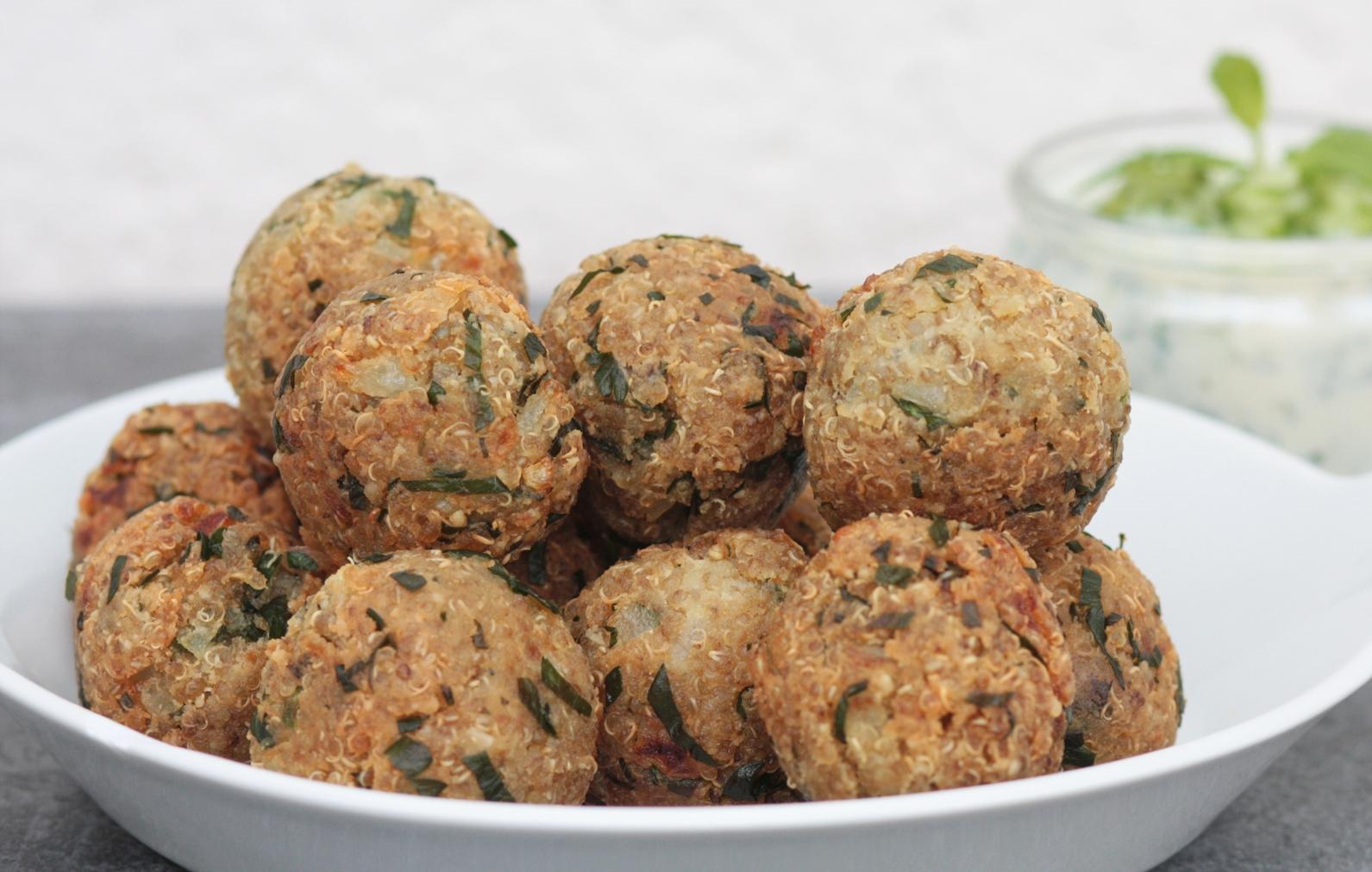 Falafels de quinoa | Season Square